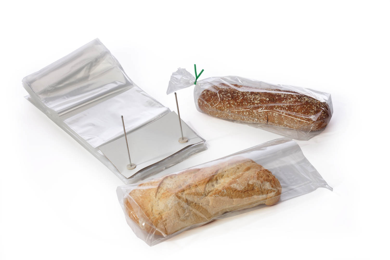 Прозрачные пакеты для упаковывания хлеба и хлебобулочных изделий