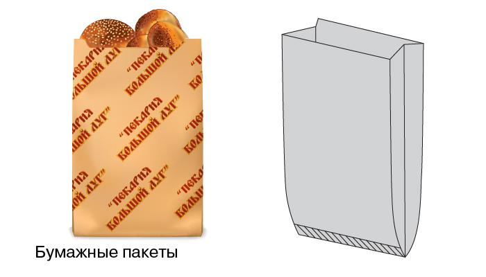 Бумажные пакеты с рисунком