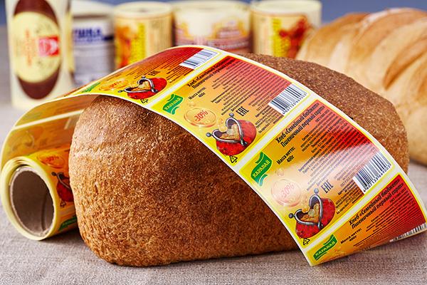 Этикетка для хлеба